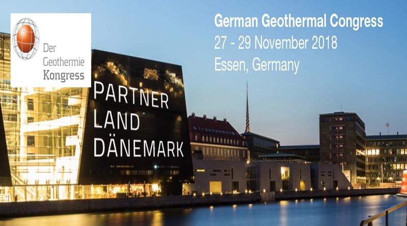 Almanya Jeotermal Kongresi 27-29 Kasım 2018'de Düzenlenecek