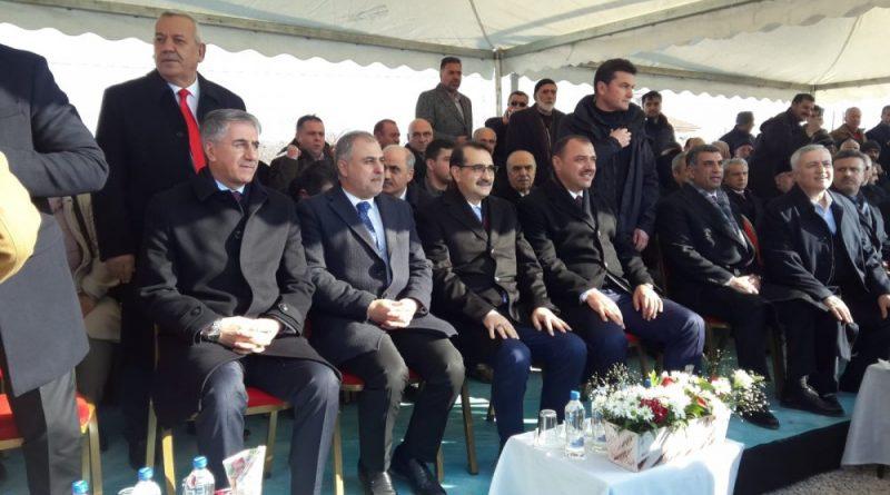 Enerji ve Tabii Kaynaklar Bakanı Fatih Dönmez Elazığ'da Jeotermal Sondaj Açılış Törenine Katıldı