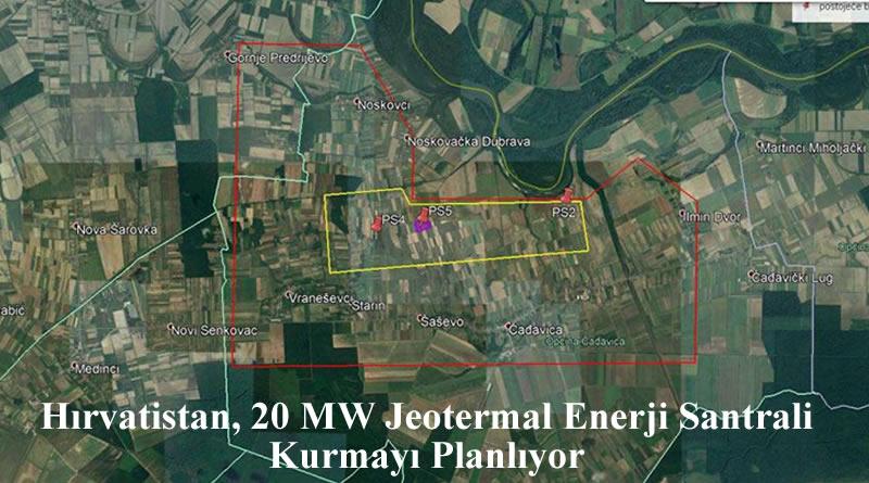 Hırvatistan, Slatina Bölgesinde 20 MW Jeotermal Elektrik Santrali Kurmayı Planlıyor