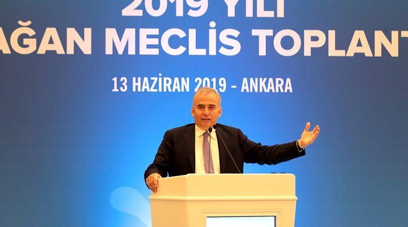 Denizli Büyükşehir Belediye Başkanı Osman Zolan  JKBB başkanlığına seçildi