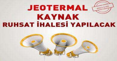 Konya'da jeotermal saha ihaleleri