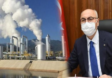 Vali Köşger, jeotermalle ilgili konuştu