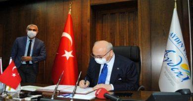 Aydın'da Tarıma Dayalı İhtisas Organize Sanayi Bölgesi için protokol imzalandı