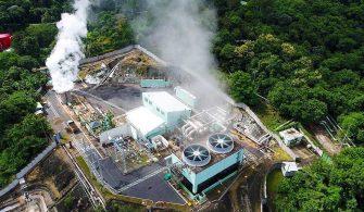 Nayib Bukele jeotermal